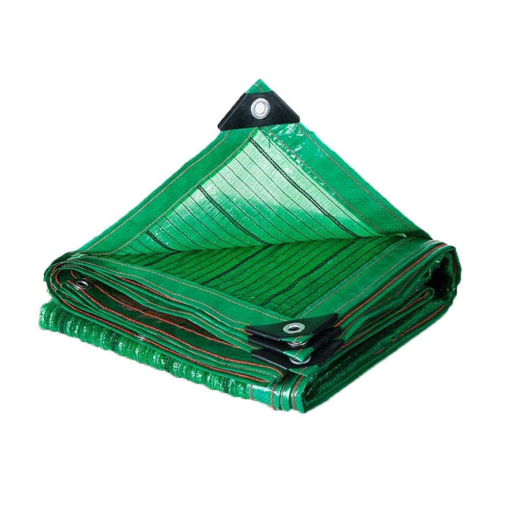 LSXIAO Shade Cloth Shading Net Anti-UV Dust-Proof Metal Hole Design Easy to Install Patio Outdoor Shadow, 21 Sizes (Color : Green, Size : 2x3m)