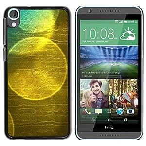 Paccase / SLIM PC / Aliminium Casa Carcasa Funda Case Cover para - Bubble Soap Reflection Sun Nature - HTC Desire 820