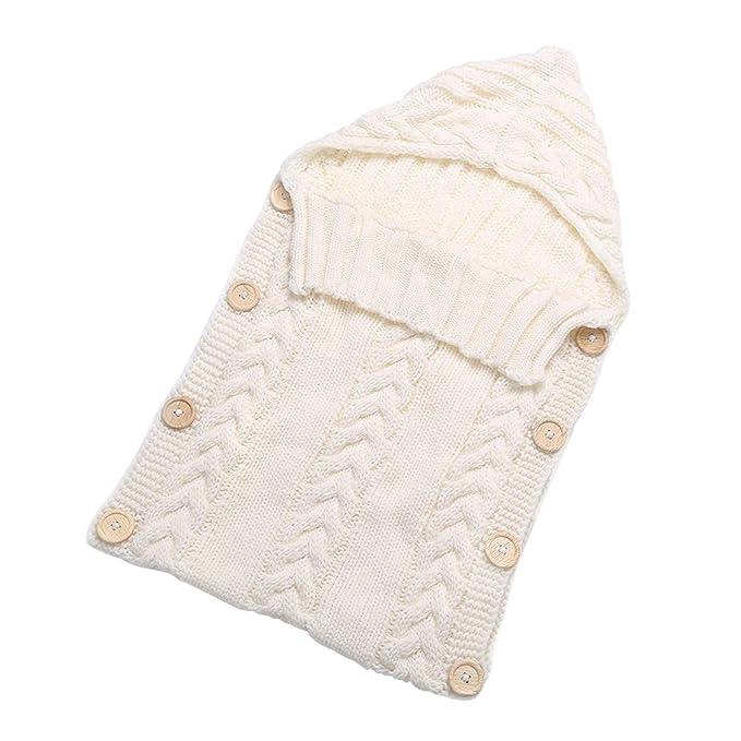 Yuccer Saco de Dormir Bebe, Saco de Dormir Recien Nacido Invierno Sacos Cochecito Bebe Swaddle por 0-6 Meses Bebe: Amazon.es: Ropa y accesorios
