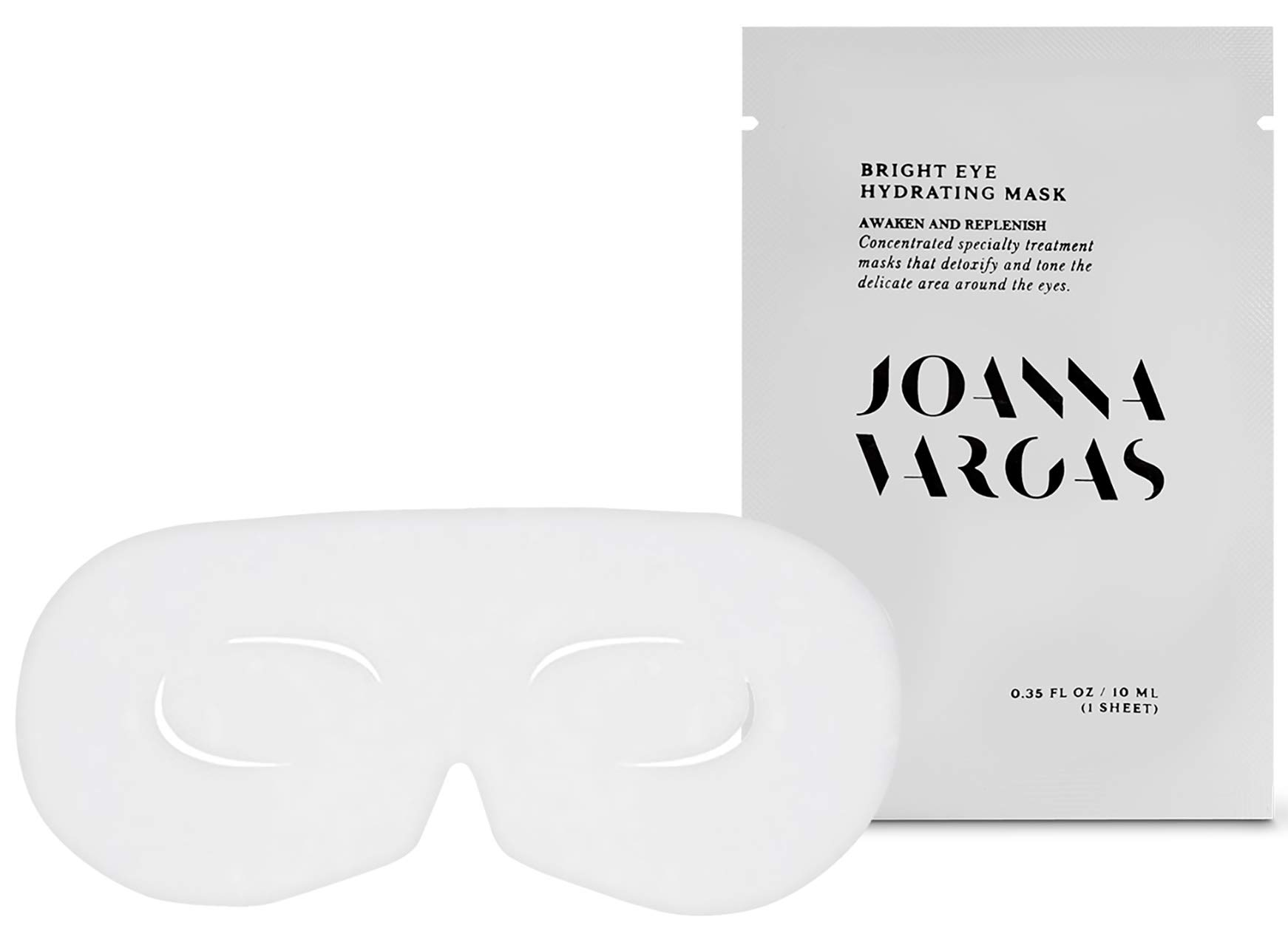 Bright Eye Hydrating Mask - Concentrated Specialty Eye Mask With Eyeliss to Reduce Puffy Eyes And For Bags Under Eyes by Joanna Vargas Skin Care