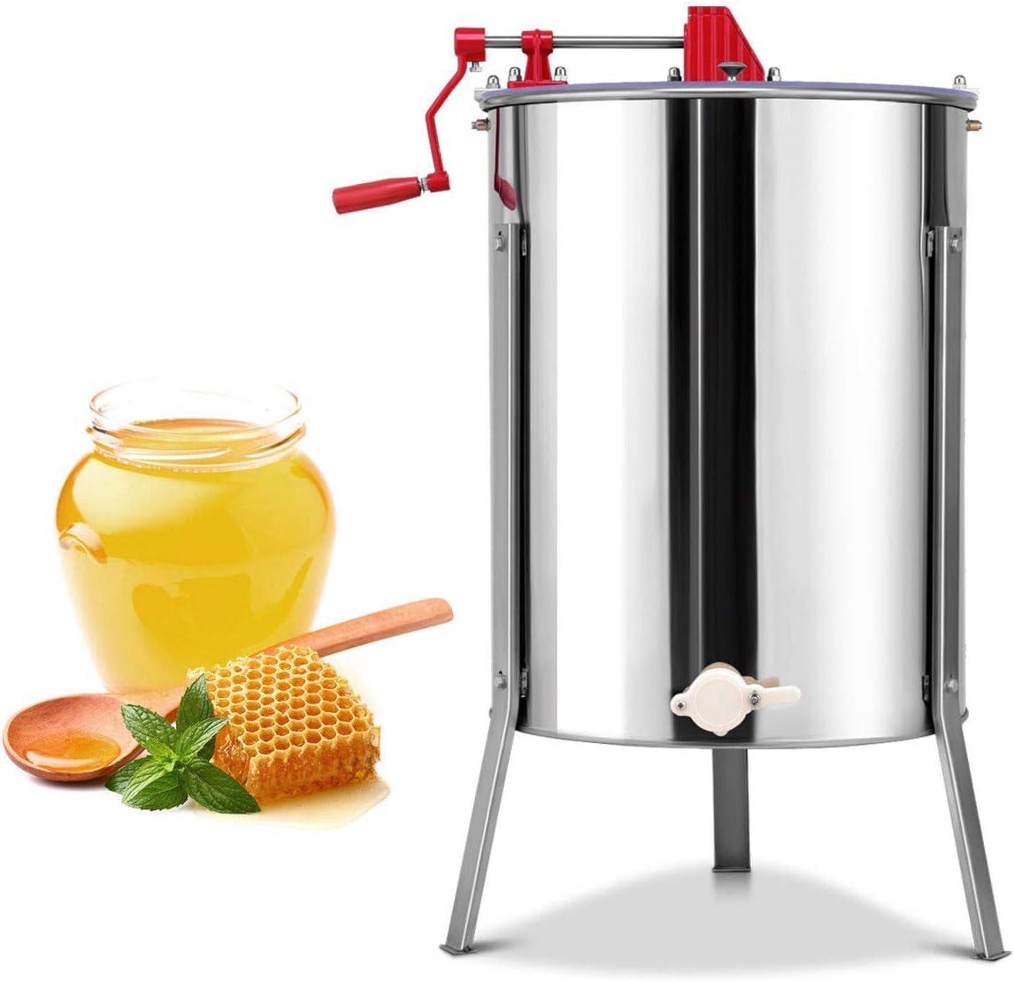 BlackEdragon Honey Extractor de Miel, Extractor de Miel, 4 ...