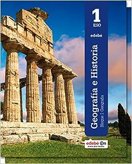Geografía e Historia 1 - 9788468320649: Amazon.es: Edebé, Obra Colectiva: Libros