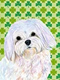 Caroline's Treasures SS4413GF Maltese St. Patrick's Day Shamrock Portrait Flag, Small, Multicolor Review