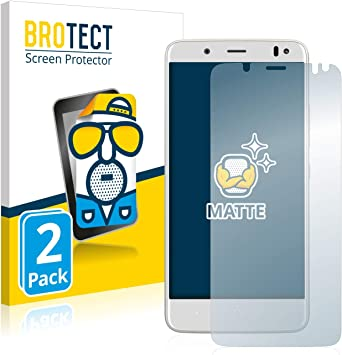 BROTECT Protector Pantalla Anti-Reflejos Compatible con BQ Aquaris ...
