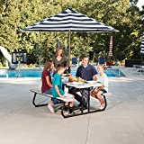 LIFETIME 260265 6-Foot Classic Folding Picnic
