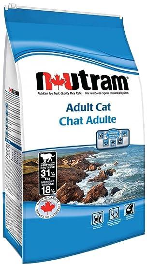 Nutram Cat Adult And Senior Recipe S5 Breeder Bag Chicken Salmon