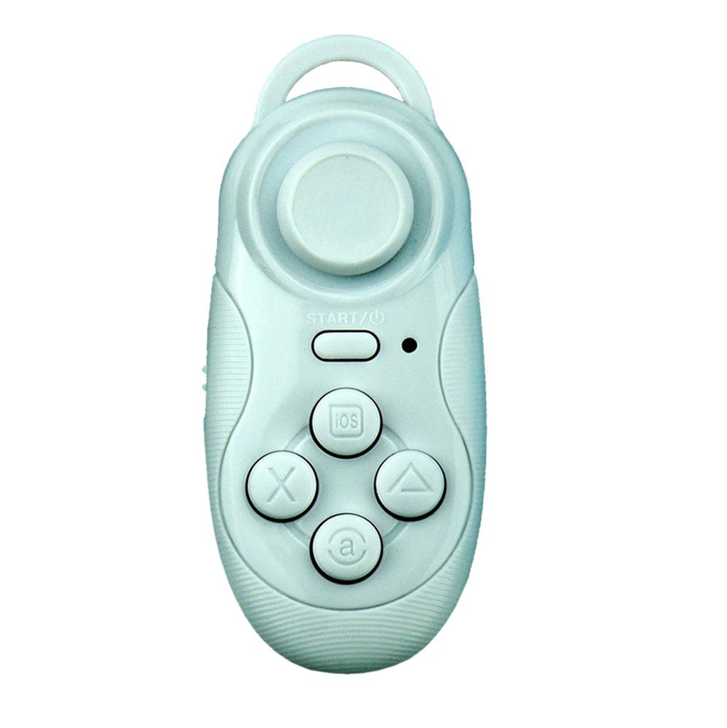 Imported Wireless Bluetooth Remote Gamepad Controller for iPhone Samsung  -White