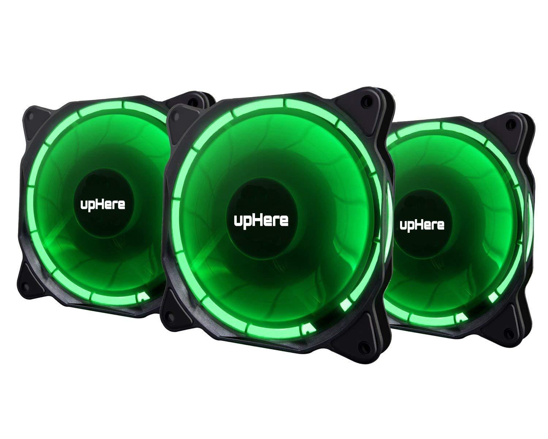 dispositivi di Raffreddamento della CPU F03 upHere 120mm LED colorato silenziosa Ventola per Casi di Computer