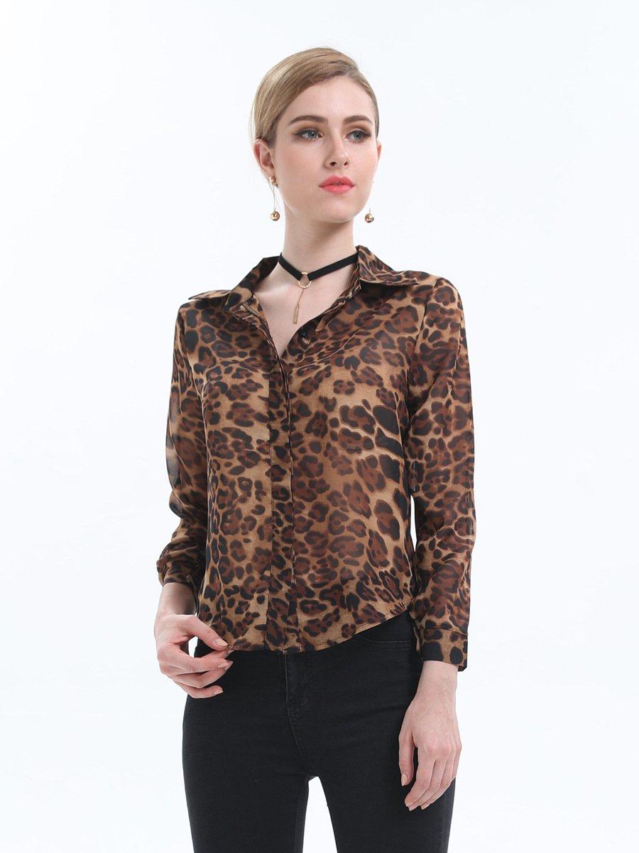 Cnsdy Camisas para Mujeres Camisas de Moda Camisas de Gasa Unisex Blusas de un Solo Pecho Blusa de Manga Larga: Amazon.es: Deportes y aire libre