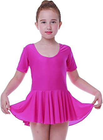 Ballerina Hot Pink Short Dresses