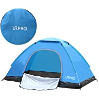 URPRO instant automatic pop up tent, 2 Person Lightweight Tent,Waterproof Windproof, UV Protection, Perfect for Beach, Outdoor, traveling,hiking,camping, hunting, fishing, etc