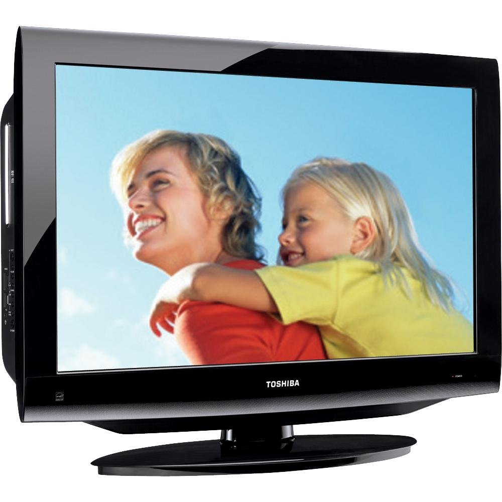 Amazon.com: Toshiba 32CV100U 32-Inch 720p LCD/DVD Combo TV (Black Gloss):  Electronics