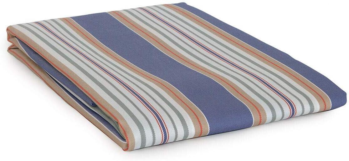 Stromboli Dimensioni Varie U221 145x290 cm Blu Tenda da Sole con Anelli per Esterno Art