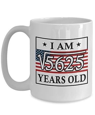 Happy 75th Birthday Mug For Men Funny 15 OZ
