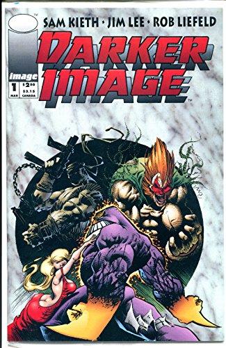 DARKER IMAGE #1, NM+, Sam Kieth, Jim Lee, Maxx, Sealed, 1993, unread