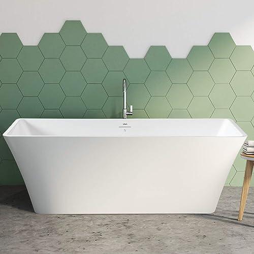 FerdY Sentosa 67″ Acrylic Freestanding Bathtub