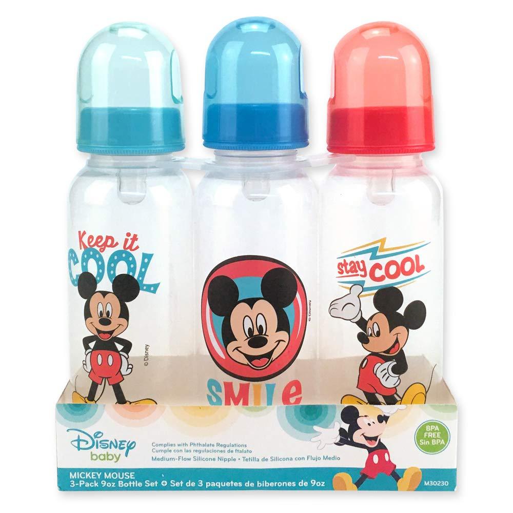 9 Oz. Disney Mickey Mouse 3-Pack Bottles