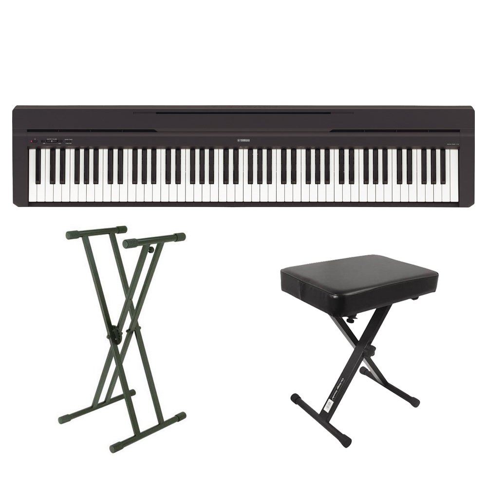 YAMAHA P-45B X型スタンドX型イスセット 電子ピアノ 88鍵盤 ヤマハ   B078LHBYTG