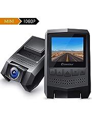 Dash Cam 1080P Crosstour Mini Car Camera (170°Wide Angle, Paking Mode, Motion Detection, G-sensor)