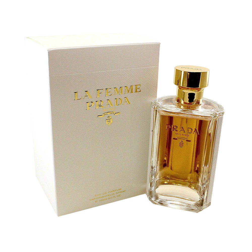 e60fe1b94eaeeb Amazon.com   Prada La Femme Eau De Parfum Spray, 3.4 Fluid Ounce   Beauty