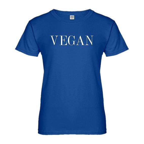 Indica Plateau Vegano Vogue Camiseta Para Mujer - Azul -: Amazon.es: Ropa y accesorios