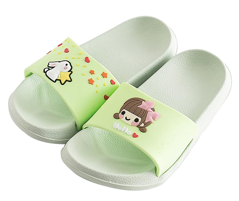 fdfd51feb0f8cb Blubi Toddler Little Kid Cartoon Slide Sandals Non-Slip Bathroom Pool Slides