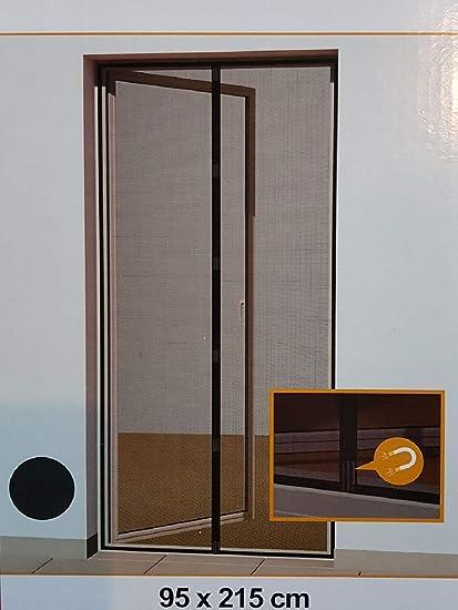 95 x 215 cm Hornbach Mosquitera magn/ética Color Gris