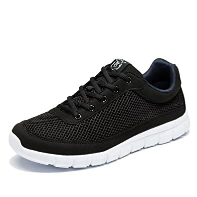 NeedBo NDB Men's Casual Lightweight Lace-up Fashion Sneakers Breathable  Athletic Walking Shoes (6.5
