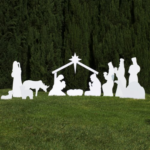 Best Outdoor Nativity Scenes