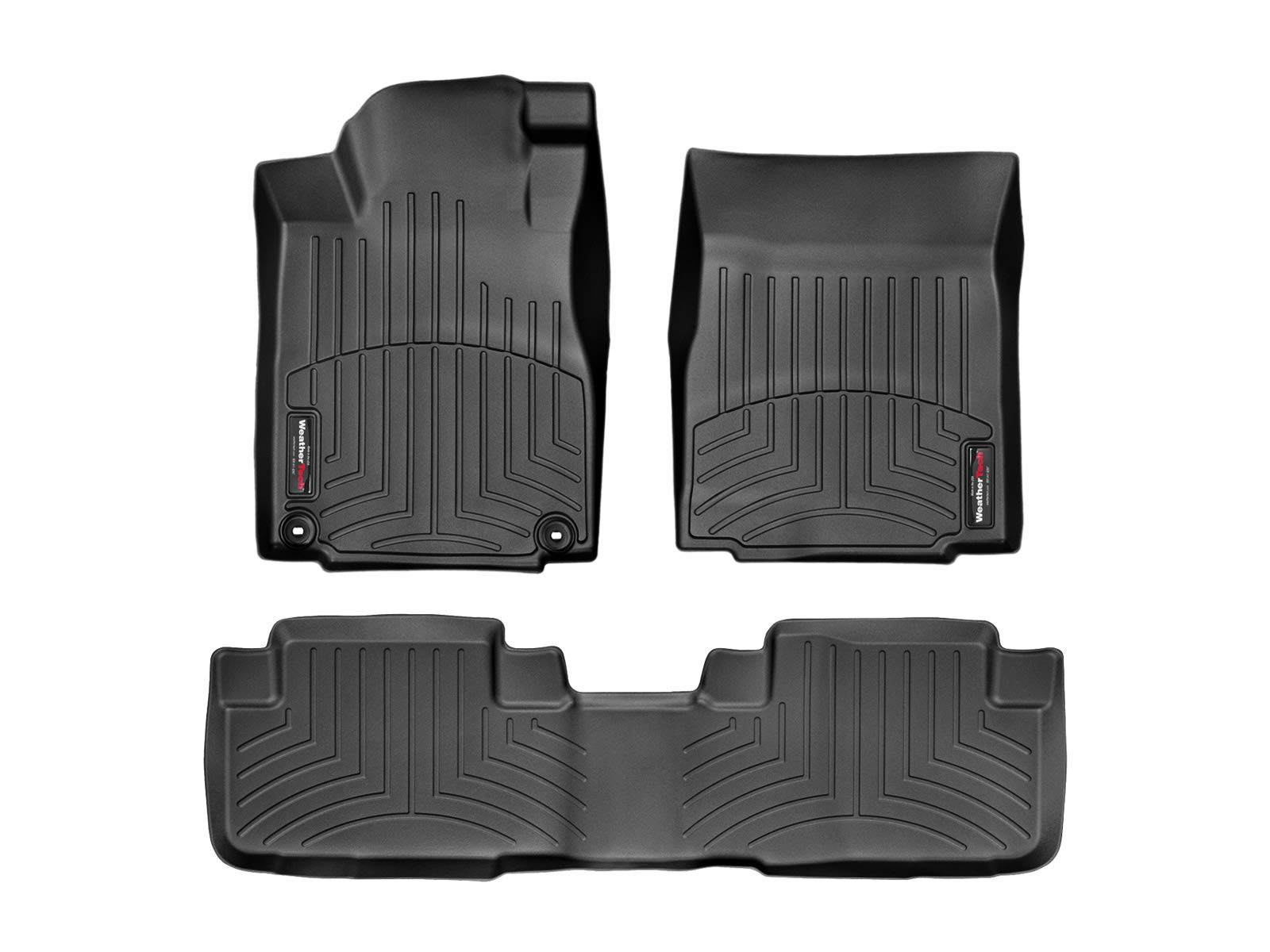 1st /& 2nd Row WeatherTech Custom Fit FloorLiner for 2017-2019 Honda CR-V