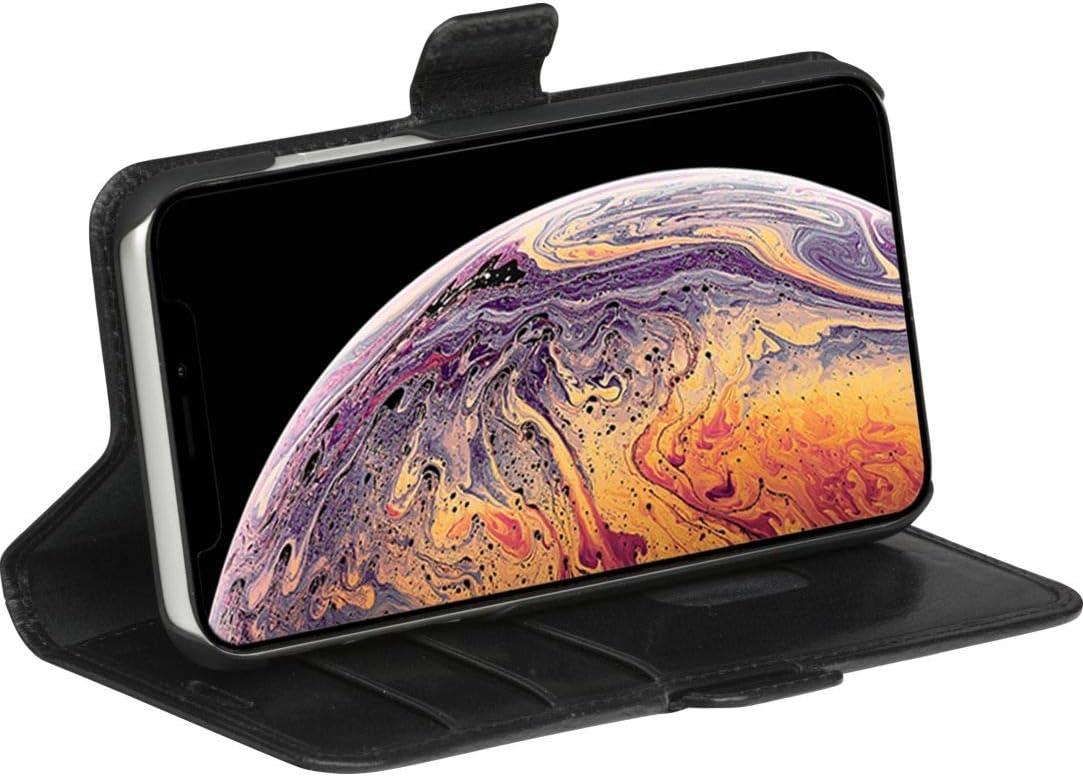 Tan dbramante1928 Copenhagen Plus full-grain leather phone case Compatible with iPhone 11