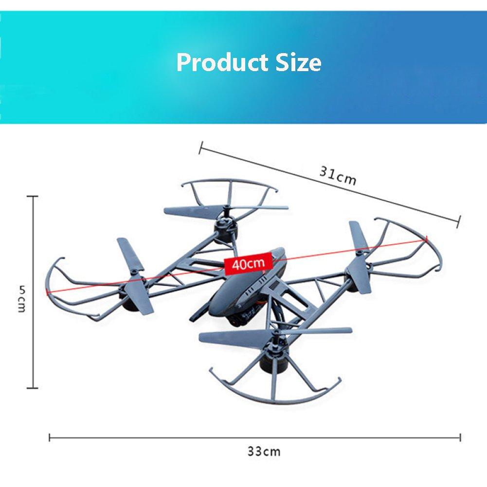 Drohne RC Drone Mit Höhen- Und Headless-Modus Headless-Modus Headless-Modus 4-Achsen-Gyro Pocket Quadcopter Mit Ein-Tasten-360 ° Flip Und LED-Licht Für Kinder Und Anfänger,3Batteries 2cacdd