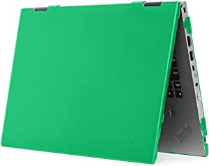"mCover Hard Shell Case for 2020 14"" Lenovo ThinkPad X1 Yoga (4th Gen) Laptop Computer (Green)"