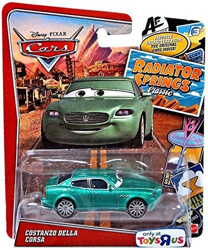 Disney/Pixar Cars, Exclusive Radiator Springs Classic Die-Cast, Costanzo Della Corsa, 1:55 Scale - Exclusive Disney Pixar Cars