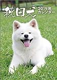 秋田犬 2019年 カレンダー 卓上 B6 CL-392