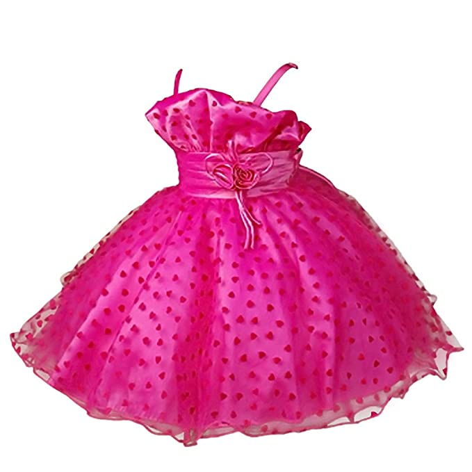 0228b170d0d8 Amazon.com  Dressy Daisy Girls Tulle Flower Girl Dresses Pageant ...