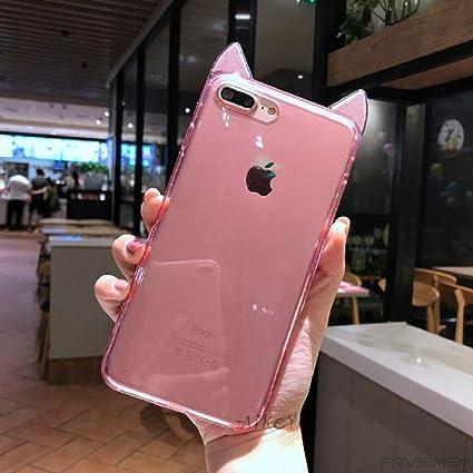 Amazon.com: 1 funda suave para iPhone X XS MAX XR 10 6 6S 7 ...