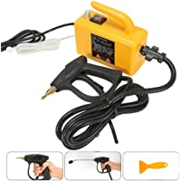 220V 2600W High Temperature Steam Cleaner, High Pressure Cleaner For Hood Air Conditioner Kitchen Tool Steaming Cleaner Cleaning Machine, With 5.9 Feet Power Cord / 8.2 Feet Steam Pipe,Yellow
