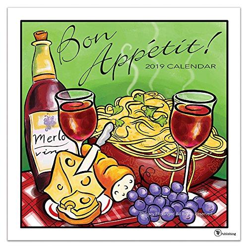 2019 Bon Appetit Wall Calendar, More Food | Drink by TF Publishing (Calendar Food)