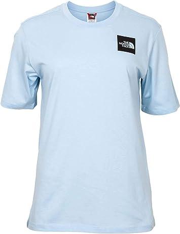 The North Face Camiseta BF Fine Azul Mujer: Amazon.es: Deportes y aire libre