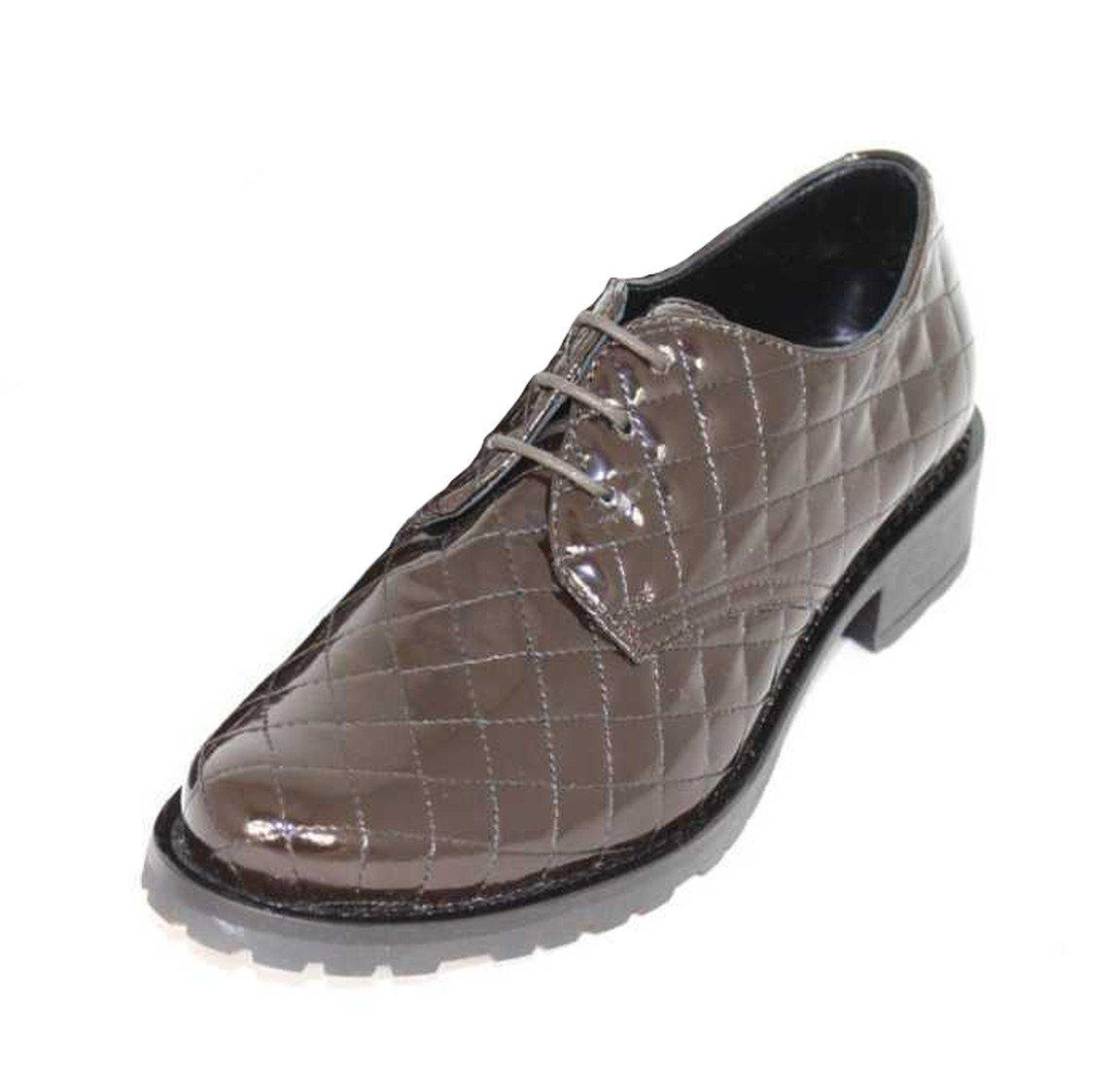 Mauro FedeliM01 - Zapatos Derby Mujer 36|Marrón - marrón