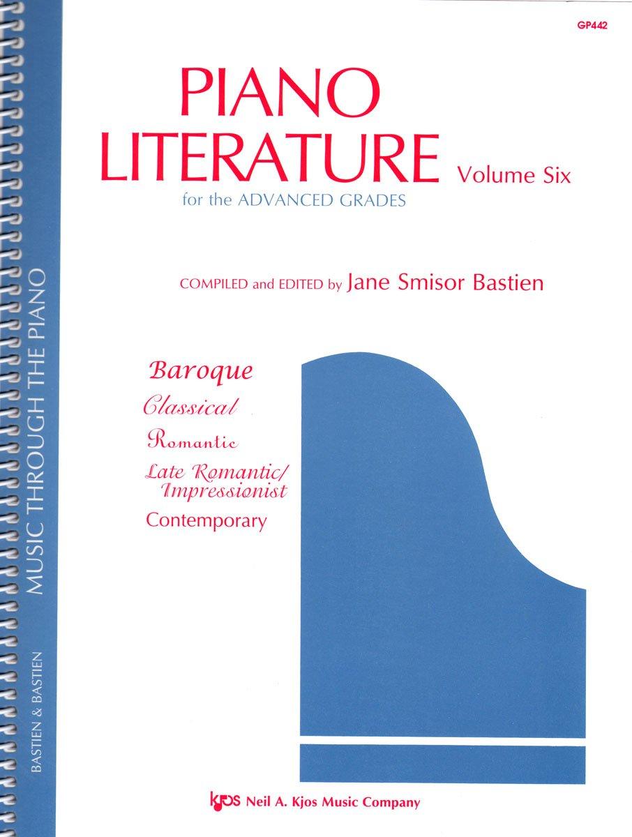 Download GP442 - Piano Literature - Volume 6 - Bastien pdf epub