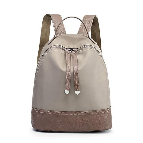 Paño de Oxford hombros paquete verano viajes de placer femenino bolsa mochila de nylon de gran