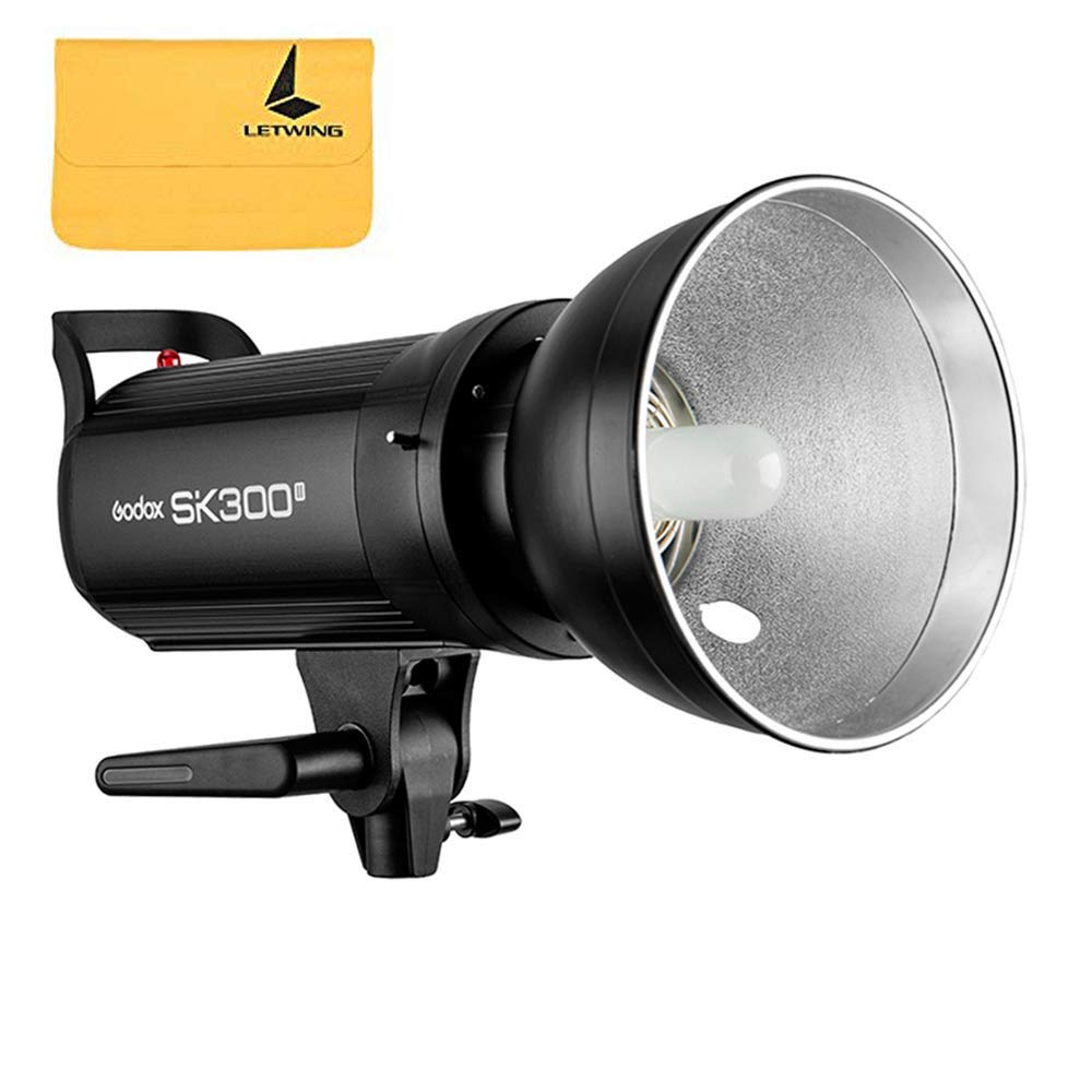 GODOX SK300II Professional Studio Strobe SK Series 110V Power 5600K Max 300WS GN58 Flash Studio Light lamp
