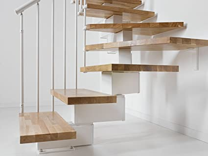 Cantilever Stair OAK90 Fonta Not 13 Hills (12 Levels) 242/302 cm