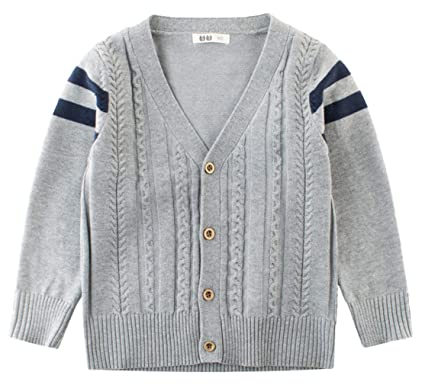 45d1634fc39db (ラボーグ) La Vogue キッズ 子供服 ニット セーター 男の子 長袖 カーディガン ベビー アウター ジャケット