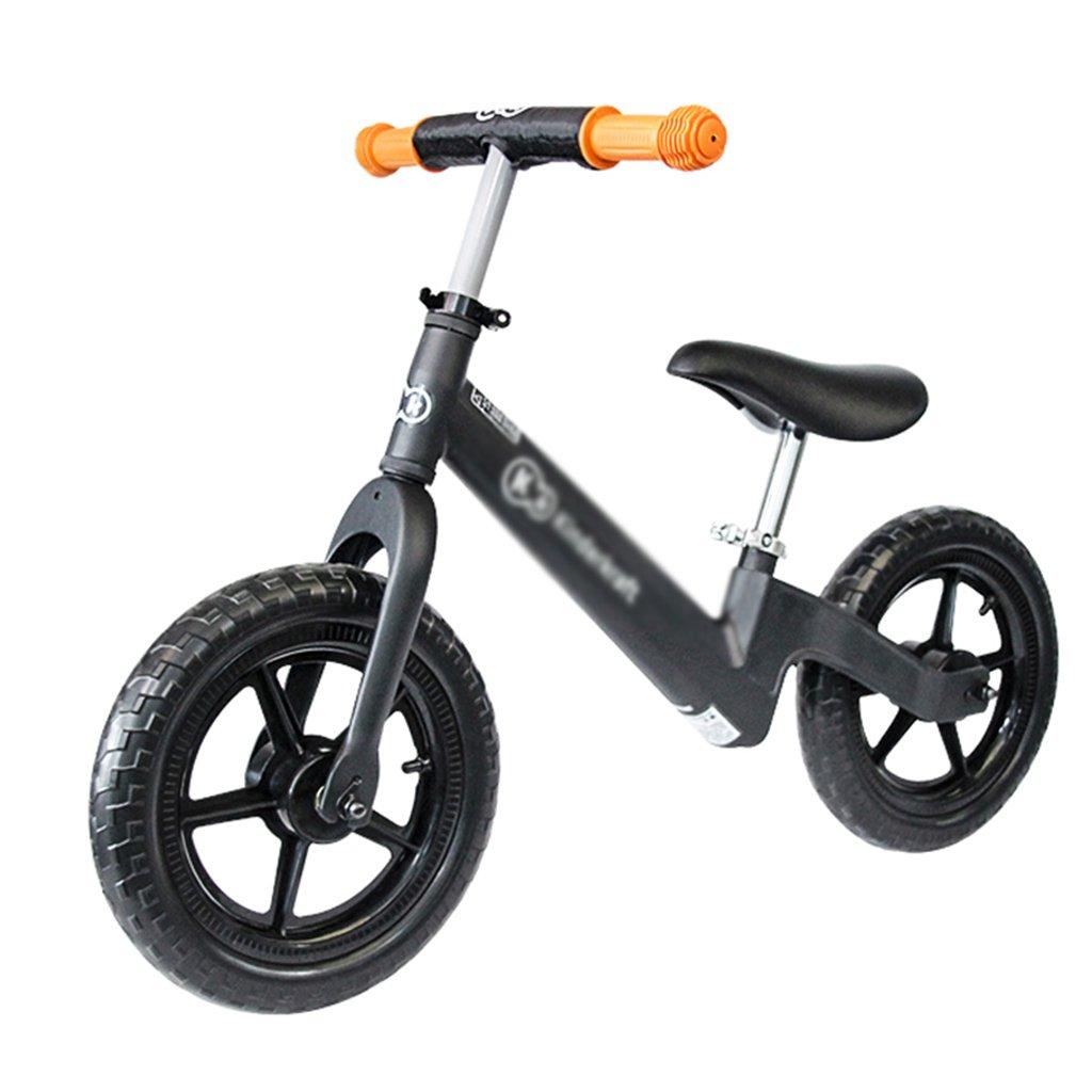 ordene ahora los precios más bajos negro 6083cm Bicicleta Balance Infantil Bebé Bebé Bebé Infantil Walker Balance Bike 2-6 Asiento Ajustable Steer Cochega 20kg (Color   negro, Talla   60  83cm)  Hay más marcas de productos de alta calidad.