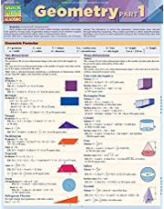 Geometry Part 1: Quickstudy Laminated Reference Guide