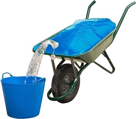 Wasserbehälter für die Schubkarre Wassersack Wasserkanister 80 Liter