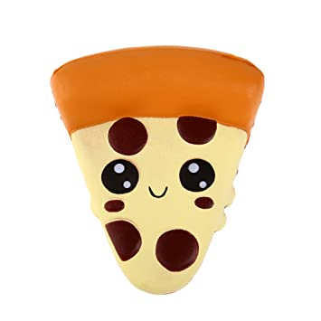 Anboor Squishies Pizza Kawaii Slow Rising Squishies Squeeze Toys Stress Relief Soft Gift Collection 1 Pcs 101255cm